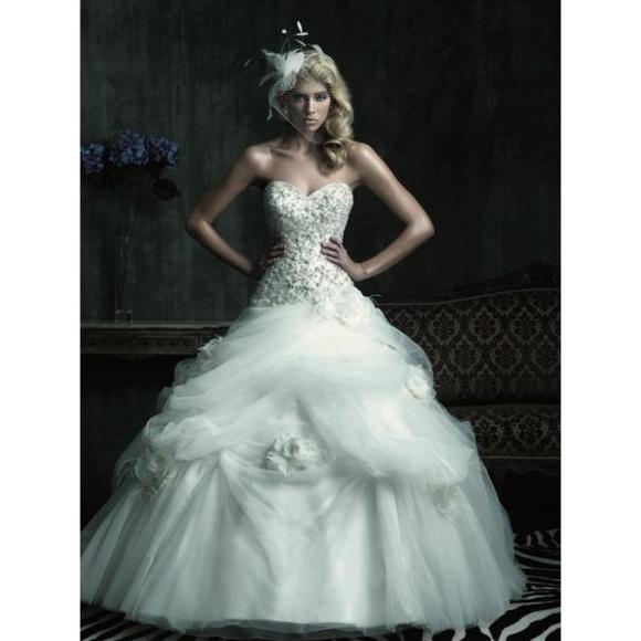 Allure Bridals Dresses | Ivory Wedding Gown | Poshmark